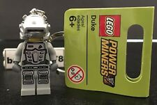 Lego New Power Miners Duke Minifigure Key Chain With Tag 852863