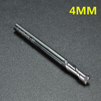 2/3/4/6/8/10/12mm Solid Carbide 2-Flute End Mill Cut Slot Drill TiAlN Coated New
