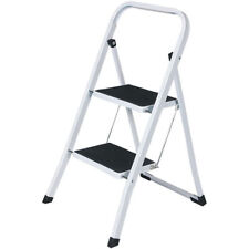 Pieghevole 2 gradini scaletta antiscivolo battistrada Scaletta di sicurezza in alluminio da cucina