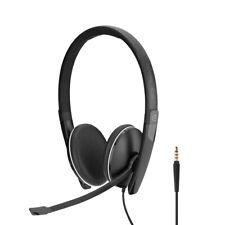 EPOS ADAPT SC 165 Headset 3,5 mm Klinkenstecker integriertes Mikrofon schwarz