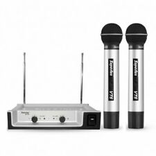Wireless Twin Microphone 2 Channel System Superlux VT96AA Professional
