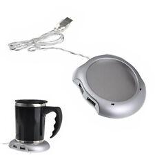 LK _ eg _ USB taza de Té Café Más Caliente Calentador almohadilla & 4 puertos