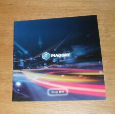 Piaggio Motorcycle Brochure 2010 - MP3 X7 Evo Xevo Fly Typhoon
