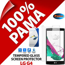 Pama Tempered Glass Screen Protector Rounded Edge Clarity Guard Film for LG G4