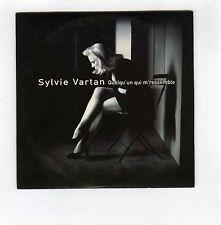 CD SINGLE PROMO SYLVIE VARTAN QUELQU'UN QUI M'RESSEMBLE