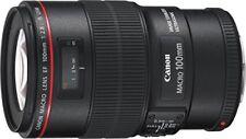Canon single focus macro lens EF 100 mm F 2.8 L macro IS USM full size