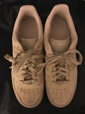 MEN'S NIKE AIR FORCE 1 '07 LV8 SUEDE SHOES BRAND NEW SIZE 7.5 mushroomAA1117 200