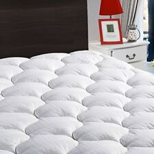 King Overfilled Mattress Pad Cover 8-21?Deep Pocket-Cooling Fitted Topper