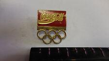 "Olympic Coca-Cola 1992 Barcelona USA Team Coke Pin 1"" Pinback Button"
