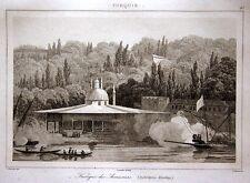 Yalı köşkü Istanbul kiosque cebeciler armurier 1840 kiosque du armuriers