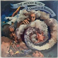 THE MOODY BLUES ~ QUESTION OF BALANCE ~ ORIGINAL FIRST PRESS LP ~ SEALED MINT