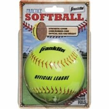 Franklin White Synthetic Softball (12-Pack) 10981