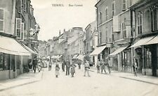 France Vesoul - Rue Carnot 1908 uncommon view postcard