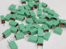 CAPACITOR MPST 63V 1UF 105K AUDIO POLYESTER FILM CAPACITOR - LOT OF 52