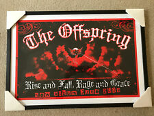 The Offspring Framed Poster! Numbered Limited Edition!