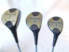 LRH Northwestern SET Of 3 Golf Clubs Woods 1-3-5 Steel Shaft