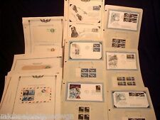 Large Estate Collection Of US & FOREIGN  First Day Covers 1950'S-70
