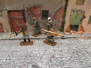 italeri 1/32 54mm german ss  painted  ww2 compatible with airfix conte tssd