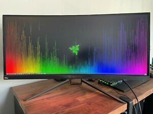 """Acer UM.CX0AA.P01 Predator X34 Pbmiphzx 34"""" 21:9 Curved IPS Gaming Monitor"""