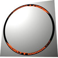 DT SWISS 27,5 COLL ORANGE COLOR REPLACEMENT RIM DECAL SET FOR 2 RIMS