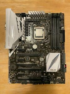 Intel Core i7-6700K + Asus z170-a motherboard