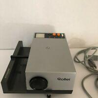 Vintage Rollei Projector P350AF Original Box Remote Control Included