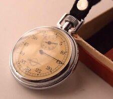Vintage Stopwatch Zlatoust Soviet USSR Mechanical Chronometer Working Deco Art