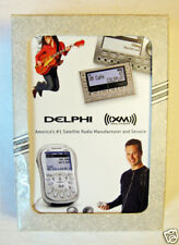 DELPHI XM Satellite Radio Mfg & Service Deck of Playing Cards by Liberty USA