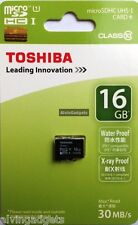 Brand New Toshiba 16GB Micro SD SDHC 30 MB/s Class 10 Flash TF Card Memory Card