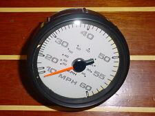 FARIA LIVINGSTON JUMBO 60 MPH REGAL BOAT SPEEDOMETER~SPEEDO GAUGE~SE9739~NEW
