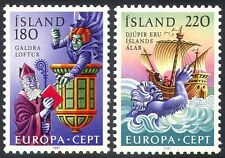 Iceland 1981 Europa/Legends/Myths/Sailing Ship/Witch/Sorcerer 2v set (n36285)