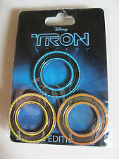 TRON Legacy IDENTITY DISC 3 PIN SET LE 300 Disney -RARE Sam Rinzler Clu Discs