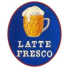 Latte Fresco Türschild