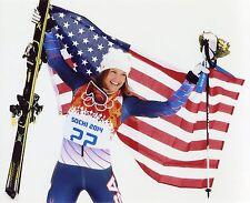JULIA MANCUSO USA SOCHI WINTER OLYMPICS 8X10 SPORTS PHOTO (E)