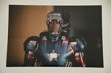 "Don Cheadle signed 20x30cm "" Iron Man "" Foto  Autogramm / Autograph in Person"