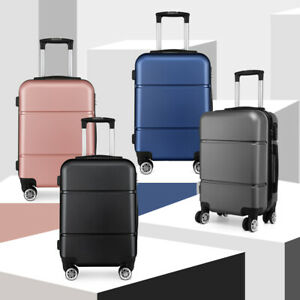 Hard Shell Cabin Size 20''Suitcase Travel Luggage Spinner Bag Lightweight Case