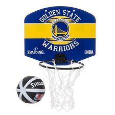 SPALDING JAPAN Micro Mini NBA Golden State WARRIORS Ball Set Black 77-661Z