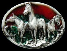 Horse Belt Buckle Pony Mere Rodeo Equestrian Western Buckles Boucle De Ceintures