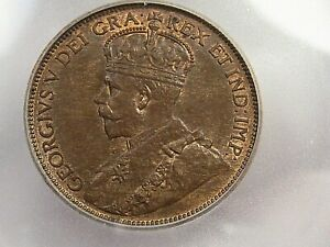 1916 Large Cent CANADA ICG MS64 RB.  #13