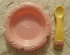 Baby Alive 2007 MAGNETIC SPOON & FEEDING BOWL