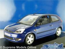 FORD FIESTA MK6 MODEL CAR BLUE 1:43 SCALE MINICHAMPS 2 DOOR SPECIAL RELEASE K8