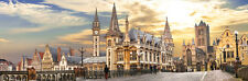600Piece Jigsaw Puzzle Sunset in Ghent Hobby Home Decoration DIY
