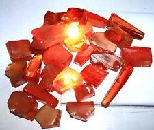 Huge Sale 5000Ct 1KG Certified Natural Orange Zircon Gemstone Rough Lot BA1087