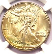 1944 Walking Liberty Half Dollar 50C Coin - Certified NGC MS67 - $1,100 Value!