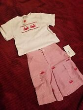 K&L 2-piece Little Boy Outfit Jack and Jill Shop Crabs