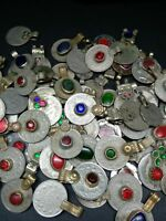 1 Pound Wholesale Vintage Tribal Coins with Jewels Mixed Lot
