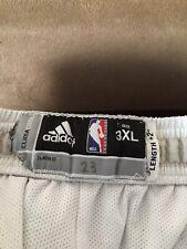 Draymond Green Golden State Warriors 2015-16 GAME WORN NBA Shorts Sz 3XL Adidas