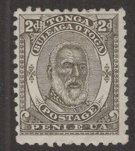 Tonga Sc. #11 2p Mint No Gum   George I  12 X 11.5P  1892