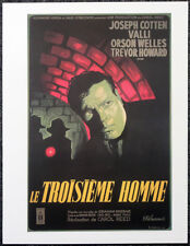 THE THIRD MAN 1949 FRENCH FILM MOVIE POSTER PAGE . ORSON WELLES . 417