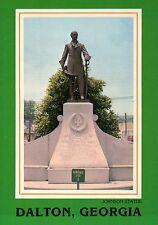 Johnston Statue Confederate Civil War General, Dalton Georgia, Joseph - Postcard